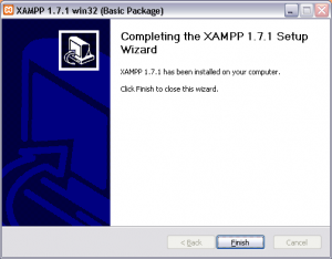 Wait For XAMPP Installation To Finish