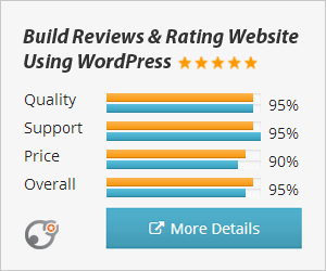 Build a review website with WP Reviews